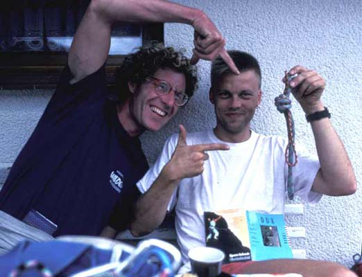 Bob og søren smidt ved dresden 1993